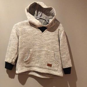 7 For All Mankind Toddler Pullover Hoodie